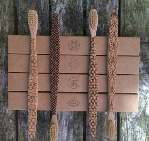 Shopping : Des brosses à dents écologiques en bambou