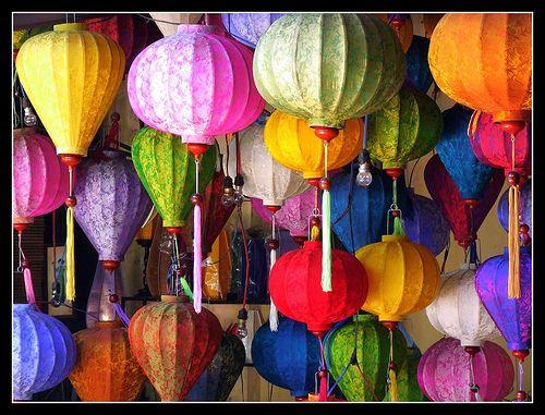 Déco : Les lanternes chinoises, c'est tendance