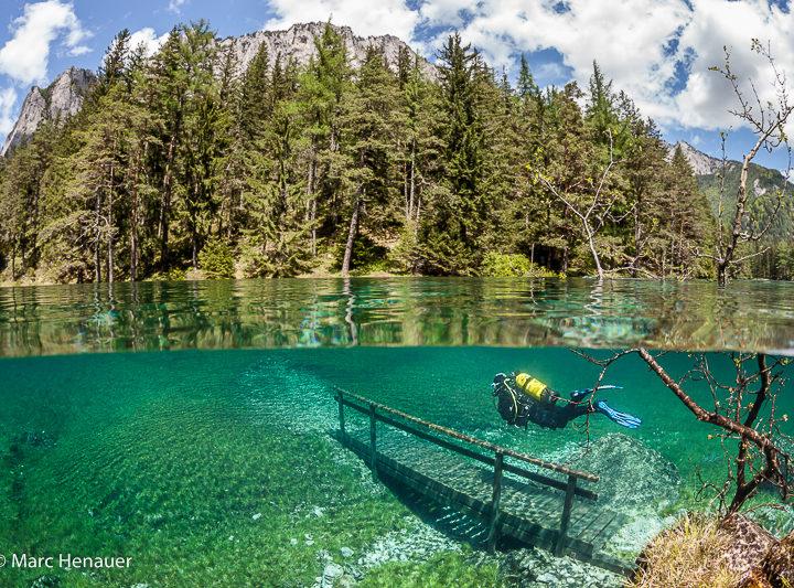Lorsqu'un parc se transforme en lac en Autriche